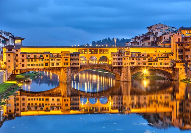 Tour nocturne de Florence en Fiat 500 et dîner - Florence -