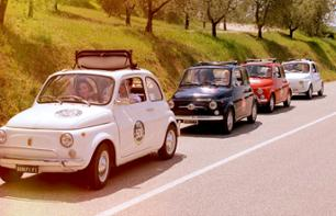 Guided Tour of the Chianti Region by Fiat 500 – Departing from Siena