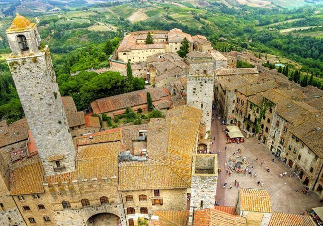 Excursion dans le Chianti à San Gimignano et Montalcino - au départ de Sienne - Sienne -
