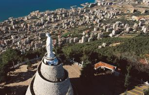 Excursion to the Jeita Grotto, the Port of Byblos and the Christian Village of Harissa