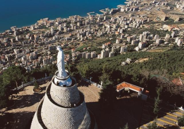 Photo Excursion aux grottes de Jeita, au port de Byblos et au village chrétien d'Harissa