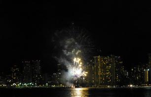 Dinner cruise with view of the Waikiki fireworks - Honolulu