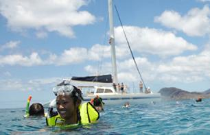 Semi-Private Catamaran Cruise with Snorkeling and Lunch - Kona, Big Island (Hawaii)