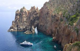 Cruise in the Calanques de Piana and at Capo Rosso - Leaving from Porto/Ota
