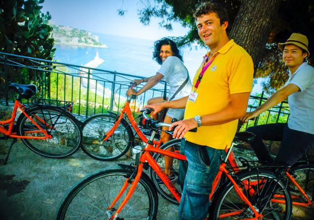Photo Visite guidée de Nice à vélo
