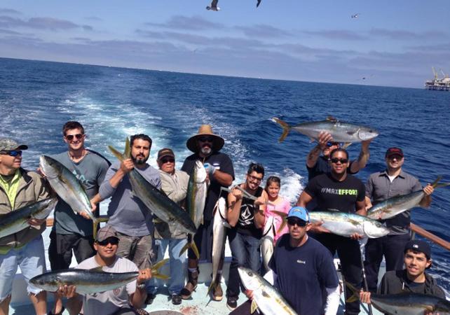 Pêche en haute mer - Au départ de Newport Beach - Los Angeles - Ceetiz