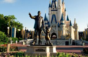 Return transfer to Orlando themed parks – Departing from Miami