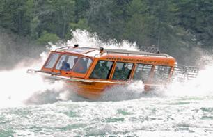 Extreme Jetboat Cruise on the Niagara River – Departing from the American side