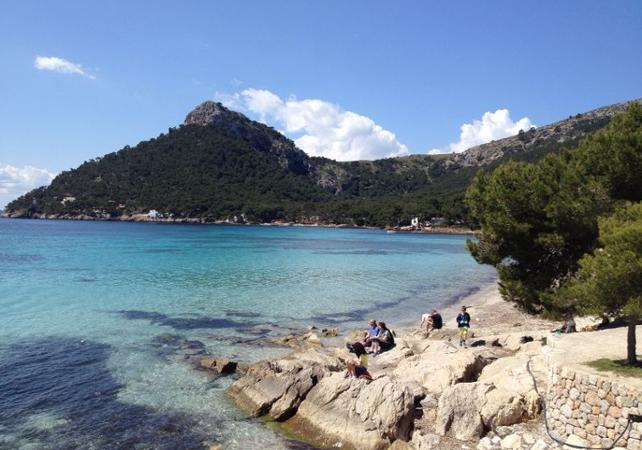 Tour en bateau de 4 heures à Formentor - Palma de Majorque -