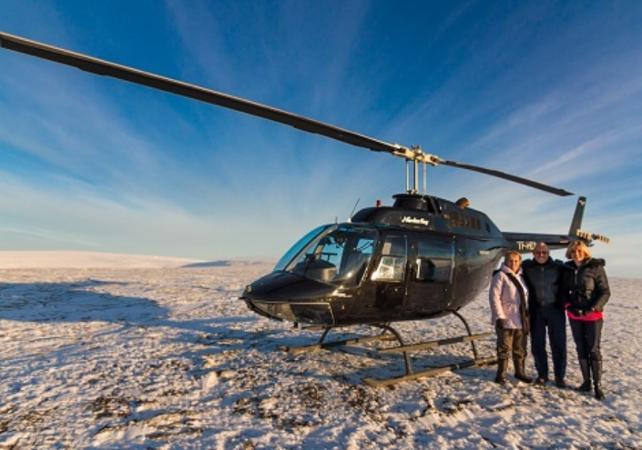 Photo Survol de Reykjavik et du mont Esja en hélicoptère