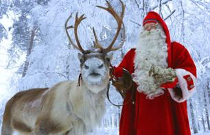 Visiting Father Christmas' village, meeting the reindeer & Lapp Lunch - Rovaniemi - Lapland