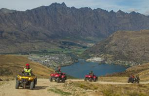 Quad Bike Ride in the Mountains & Lord of the Rings Location Tour