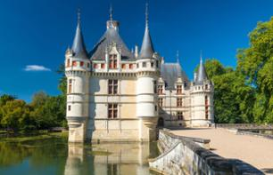 Minibus Excursion to the Châteaux de Azay-le-Rideau, Chenonceau, Amboise, Wine Cellar and Visit to the Villandry Gardens – Leaving from Tours