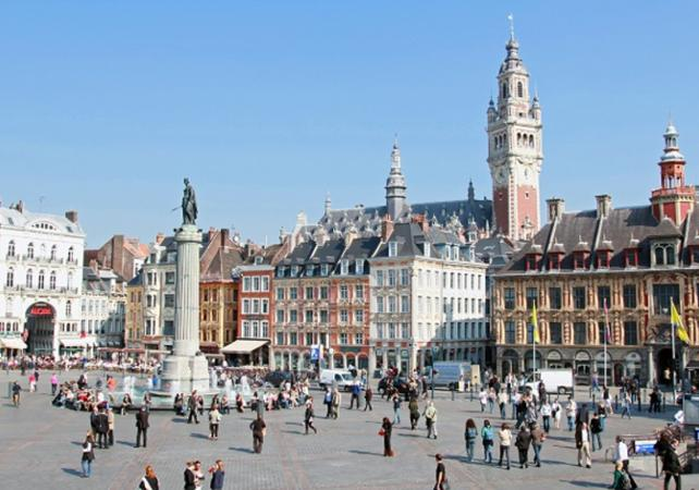 guided city tours lille old town guided walking tour. Black Bedroom Furniture Sets. Home Design Ideas