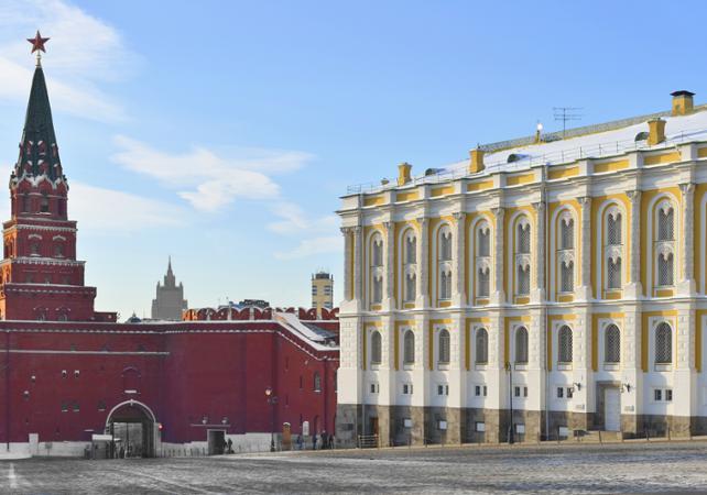 Photo Visite guidée de l'Armurerie du Kremlin de Moscou