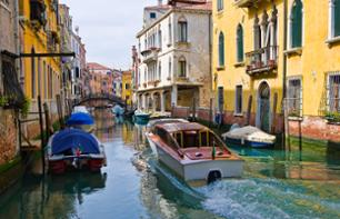 Water Taxi Transfer: Marco Polo Airport → Your Hotel in Venice