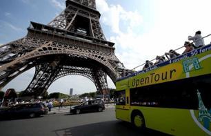 Visite Paris de ônibus - Pass transporte 1, 2 ou 3 dias