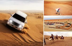 Dubai Desert Safari: 4X4 Excursion, BBQ Dinner & Sunset Activities