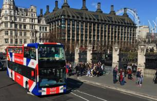 Panoramic bus tour of London - Multiple stops - 1-Day, 2-Day or 3-Day pass + Cruise + Guided visits on foot