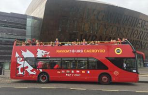 Cardiff Hop-on Hop-off Bus Tour – 24-hour Pass