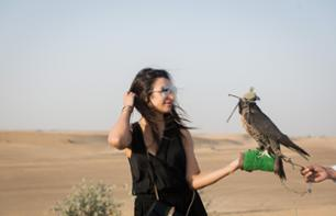 Safari in the Dubai Desert - With sandboarding and a camel ride