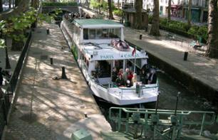 Seine River and Canal St Martin Cruise