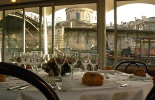 Open air dinner cruise on the Seine and the St. Martin Canal