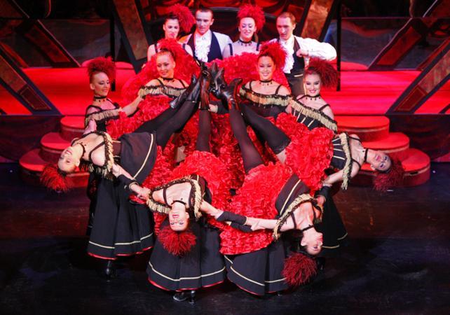 Gastronomía,Gastronomy,Comidas y cenas especiales,Special lunch and dinner,Moulin Rouge,Cena