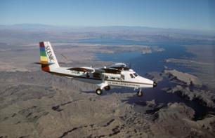 Ultimate Airplane Flight: The Grand Canyon & Hoover Dam + Visit to the West Rim with Helicopter Descent & Boat Cruise