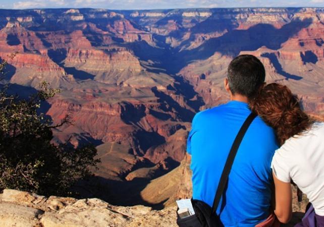 Survol en avion : Grand Canyon et barrage Hoover + visite du plateau ouest - Las Vegas -
