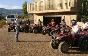 Survol en avion : Grand Canyon et barrage Hoover + excursion en Quad sur le plateau nord et barbecue