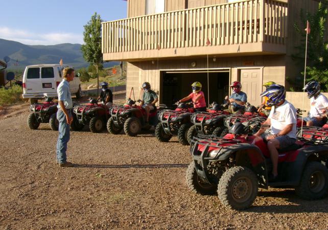 Survol en avion : Grand Canyon et barrage Hoover + excursion en Quad sur le plateau nord et barbecue - Las Vegas -