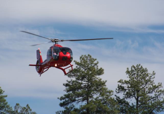 Photo Survol en hélicoptère du Grand Canyon au départ du Grand Canyon South Rim