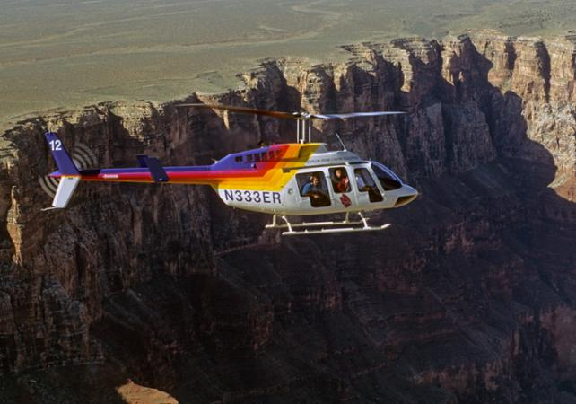 Rundflge Im Helikopter  Flugzeug Fly Over The Grand Canyon By Helicopter