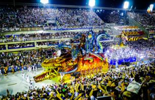 Ticket to the Rio de Janeiro Carnival Parade at the Sambodrome