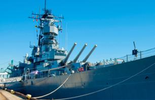 Billet USS Iowa - Cuirassé de guerre à Los Angeles