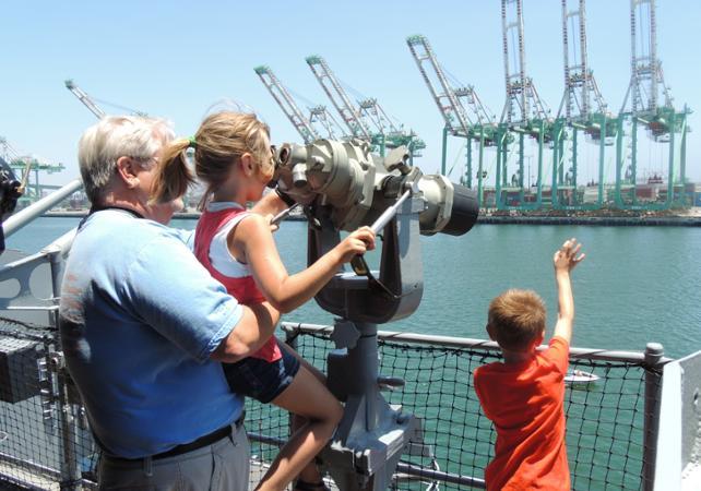 Offre 2 en 1 : Visite du cuirassé USS Iowa et croisière promenade à Los Angeles - Los Angeles - Ceetiz
