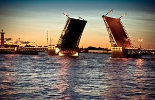 Night Boat Trip along The River Neva – White Nights Cruise