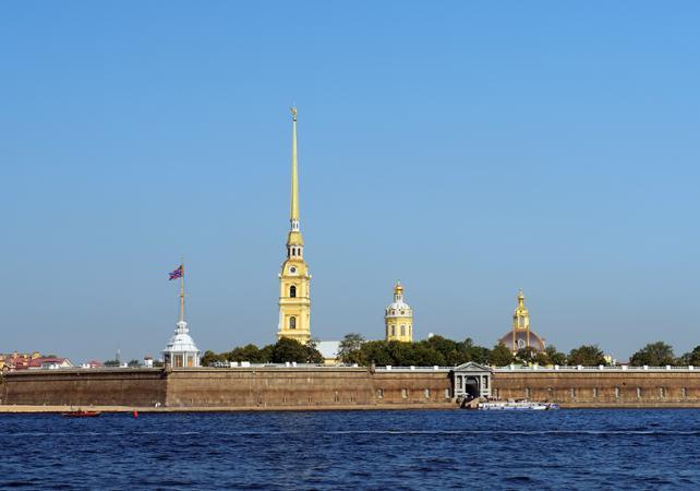 Visite privée de la forteresse Pierre-et-Paul avec un guide - Départ/retour hôtel - Saint Petersbourg -