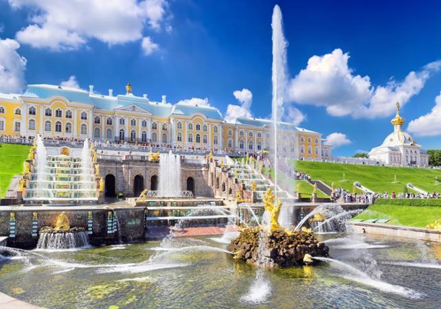 Visite privée du parc du Palais de Peterhof de Saint Pétersbourg - Départ/retour hôtel - Saint Petersbourg -