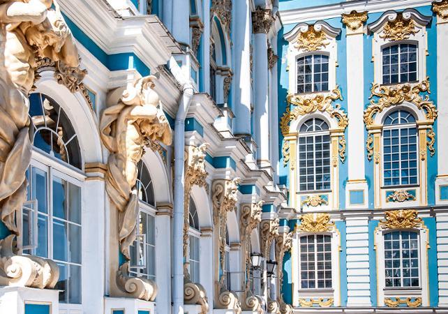 Visite privée du musée de l'Ermitage - départ/retour hôtel - Saint Petersbourg -