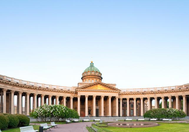 Visite privée de Saint Pétersbourg en voiture - départ/retour hôtel - Saint Petersbourg -