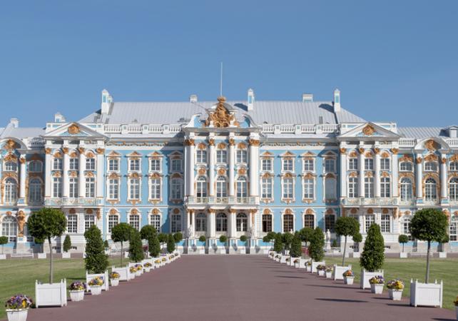 Visite privée du Palais Catherine à Saint Pétersbourg - Départ/retour hôtel - Saint Petersbourg -