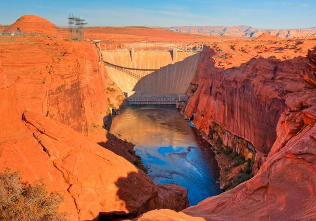 Visite du barrage Hoover et excursion au Grand Canyon West Rim - Au départ de Las Vegas - Las Vegas -