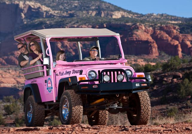 Pink Jeep Coyote Canyon Tour
