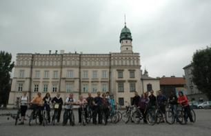 Visite de Cracovie à vélo