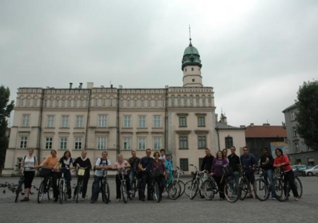 Photo Visite de Cracovie à vélo