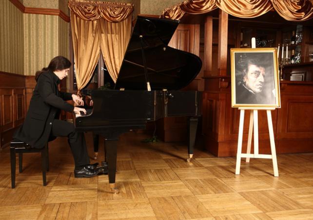 Concert de Chopin à Cracovie avec un verre de vin offert