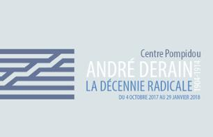 Pompidou Centre: Tickets for the André Derain exhibit