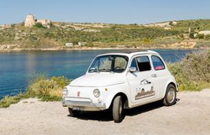 Guided Tour of Cagliari in a Fiat 500